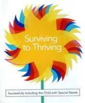 Training:  Surviving to Thriving-DVD training video with tips for inclusion of invidiuals with special needs into the church