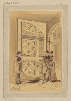Porte rue Quincampoix n° 12 - 3e Arrondissement (1879)   Flickr - Photo Sharing!