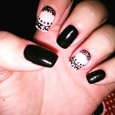 #nailart #blacknails #fallnails2016 #tribal