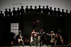 IL BARBIERE DI SIVIGLIA - G.ROSSINI  opera theatre stage design concept -