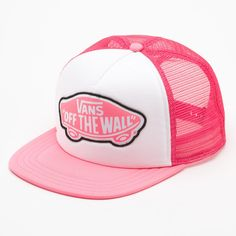 Beach Girl Trucker Hat ( 18) Logotipo Vans 6261ce46d59