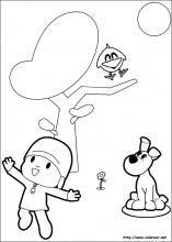Dibujos de Pocoyó para colorear en Colorear.net