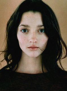 a pale, small face. [Audrey Marnay by Jean-Baptiste Mondino for Jalouse June Pretty People, Beautiful People, Beautiful Eyes, Beautiful Pictures, Female Character Inspiration, Face Reference, Photo Reference, Interesting Faces, Portrait Inspiration