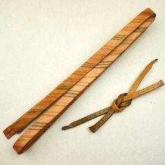 Brown, leather haori himo / レザーの羽織り紐のセット http://www.rakuten.co.jp/aiyama #Kimono #Japan #aiyamamotoya
