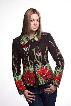 """Жакет""""Мая"""" - Юкостайл. Магазин дизайнерской одежды оптом и в розницу."""