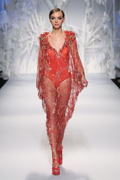 Abed Mahfouz; not a fan of the unitard...but the sheer material is pretty