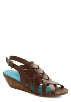 I Love a Braid Wedge, #ModCloth