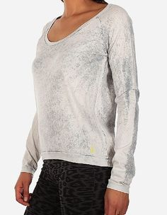 iriedaily - Vintage Fair LS light grey white