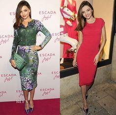 Miranda Kerr In Escada – Escada Joyful Event