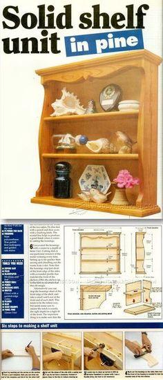 Solid Shelf Unit Plans - Woodworking Plans and Projects | WoodArchivist.com