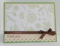 """images treading water border punch   Here's how I did it: * Card Base - 5.5"""" x 8.5"""" (scored at 4.25"""")"""