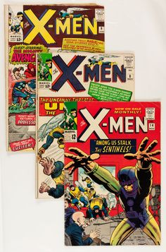 $$$ ONLY HOURS LEFT TO BID ON THIS GROUP OF 6 VINTAGE X-MEN COMICS $$$  VERY GOOD CONDITION! DON'T MISS OUT! BID NOW BEFORE ENDS TONIGHT!  Silver Age (1956-1969):Superhero, X-Men Group (Marvel, 1964-66) Condition: Average GD/VG.... (Total:6 Comic Books) Image #1