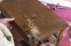 How To Restore an Antique