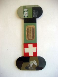 Nathalie Du Pasquier, Bottle Opener, Painting, Wall, Collage, Key Bottle Opener, Bottle Openers, Paintings, Draw