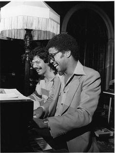 Chick Corea and Herbie Hancock 1978