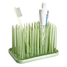 The Container Store > Grassy Toothbrush Organizer by Umbra®
