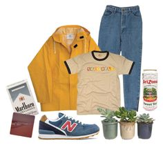 """those awful ones"" by petprouvaire ❤ liked on Polyvore featuring New Balance and Hostess"
