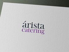 Logo created for Arista Catering. #inabudhabi #mydubai #logo #corporateidentity
