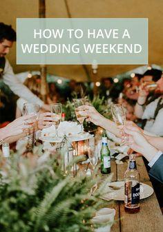 How to have a wedding weekend Wedding Blog, Wedding Venues, Wedding Weekend, Alternative Wedding, Long Weekend, Weddingideas, Wedding Inspiration, Coast, Country