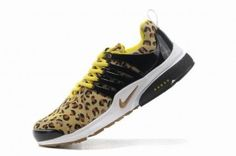 Nike Air Presto Mens Leopard Brown/Black/Yellow Shoes
