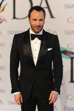 Tom Ford at the CFDA Fashion Awards. #suits
