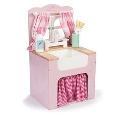 Le Toy Van Spültisch aus Holz Jungen Mädchen, (100€)