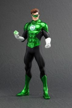 """DC Comics ArtFX+ Statue - New 52 Green Lantern. Coming from Kotobukiya. It's The DC Comics ArtFX+ Statue - New 52 Green Lantern. A Kotobukiya Japanese Import! Kotobukiya proudly present the next statue in the New 52 Justice League ArtFX+ series: Green Lantern. Following the Superman's release, Green Lantern joins the Justice League team with his New 52 look. Features include magnets embedded in the statue's feet, allowing for greater stability on the included base. Standing nearly 7.5""""…"""