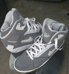 e10ee4220d55 NEW MEN S NIKE AIR FLIGHT LITE HIGH 329984-004 COOL GREY WHITE-PURE