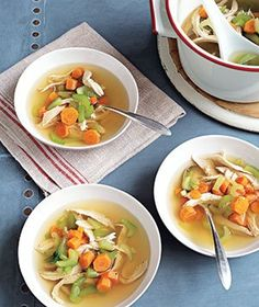Classic Chicken Soup | Get the recipe: http://www.realsimple.com/food-recipes/browse-all-recipes/classic-chicken-soup-10000001226560/index.html