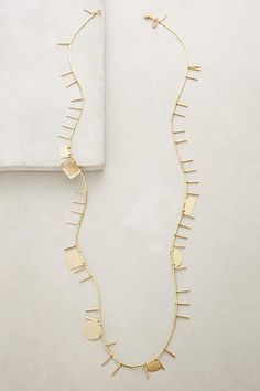 Sticks & Stones Necklace - #anthroregistry