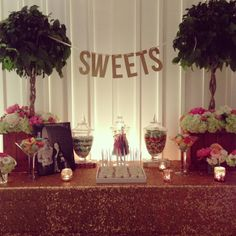 our sweets bar