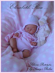 Самые реальные куклы-малыши Сэнди Файбер (Sandy Faber dolls) / Уникаты кукол малышей / Бэйбики. Куклы фото. Одежда для кукол