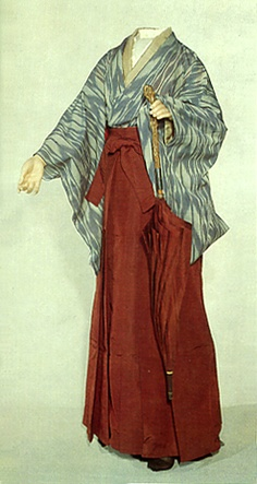 I still love the hakama and kimono look.  It is actually very good for the wet weather here.