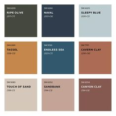 Bedroom Paint Colors, Paint Colors For Home, Room Colors, House Colors, Paint Colours, Colour Pallete, Colour Schemes, Color Trends, Color Palettes