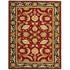 Safavieh DuraRug Red Oriental Rug - EZC427D