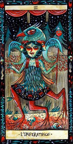 La Emperatriz - Bonne Adventure Tarot