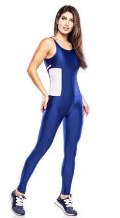 8a840410f1ce Brazilian Workout Jumpsuit - Strontium Navy Blue