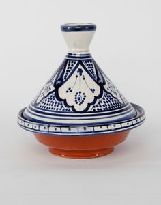 Moroccan Serving Tagine Pots in White