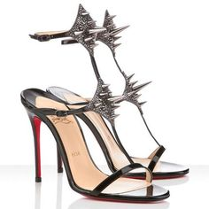 58868073625 Perfect Christian Louboutin Lady Max 100mm Sandals Black