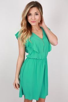 Inner Beauty Dress in Aqua