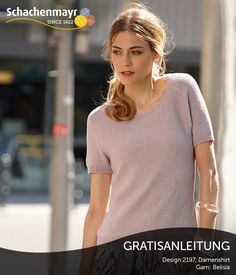 So schön kann schlicht sein! Dieses in einfachem Glattlinks-Muster gehaltene Kurzarm-Shirt besticht auf den ersten Blick. Unaufdringlich, und doch attraktiv ist die dezente Farbe. Reizvoll die Optik, die das Bändchengarn Schachenmayr #BelisiaWolle bewirkt. Ein zeitloses, klassisch-elegantes Kleidungsstück, an dem Sie viel Freude haben werden!
