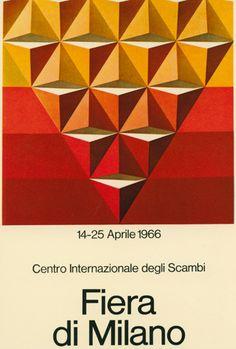 manifesto ufficiale della Fiera Campionaria di Milano, Studio CBC (1966)