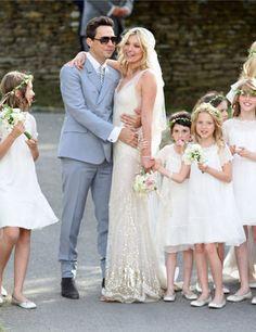 Kate Moss Wedding