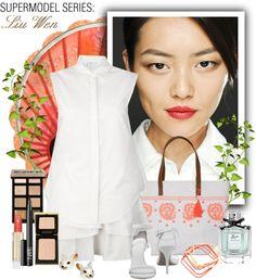 """Supermodel Series: Liu Wen"" by gokarm on Polyvore"