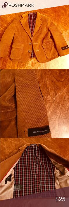 Corduroy Blazer Brown corduroy toddler boy's blazer. Worn only a few times. In excellent condition. Tommy Hilfiger Jackets & Coats Blazers