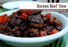 Recipe: Korean Beef Stew