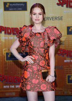 Madelaine Petsch Photos Photos: World Premiere Of Sony Pictures Animation And Marvel's 'Spider-Man: Into The Spider-Verse' - Arrivals Madelaine Petsch, Cheryl Blossom Riverdale, Riverdale Cheryl, Riverdale Funny, Jessica Chastain, Saree Blouse Designs, Beautiful Celebrities, Redheads, Girl Fashion