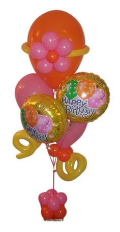 40th Budget Birthday Balloon Bouquet Same Day Delivery In Dallas TX