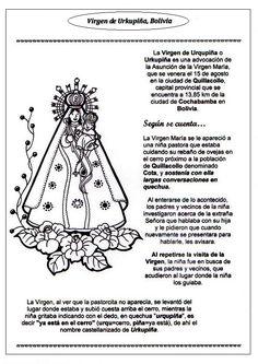 La Catequesis (El blog de Sandra): Recursos Catequesis Virgen de Urkupiña - 15 de Agosto