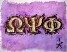 """Omega"" Drawing/Watercolor 2015 by indiaSheana www.indiaSheana.com"
